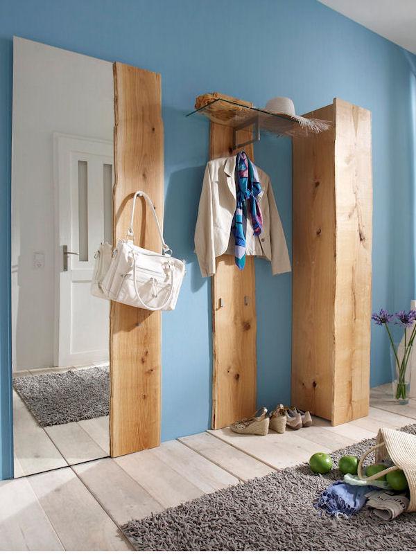garderobenpaneel bosco. Black Bedroom Furniture Sets. Home Design Ideas